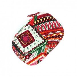 Sewing kit Ethnic - red