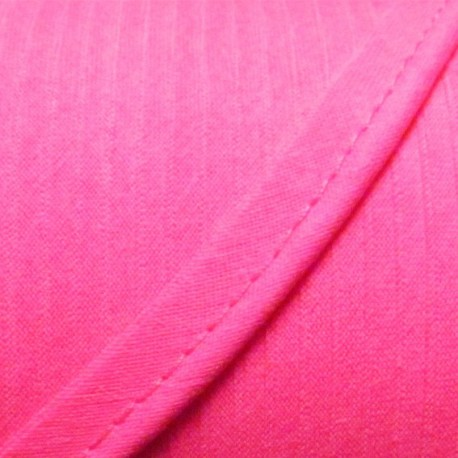 Plain piping - fluorescent pink