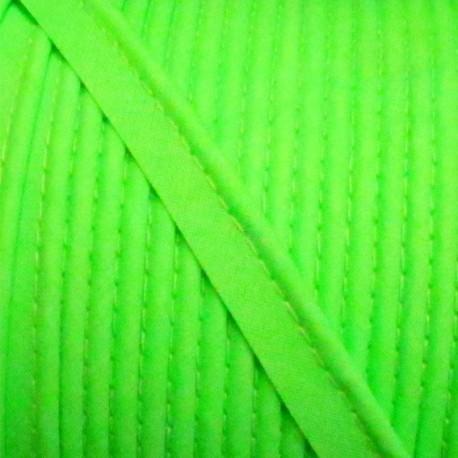 Plain piping - fluorescent green
