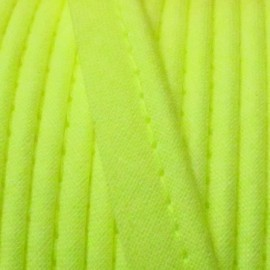 Plain piping - fluorescent yellow