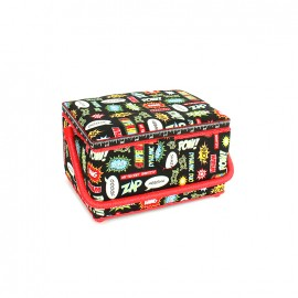Sewing box Pow taille M - black