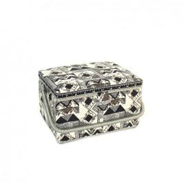 Boîte à couture Graphik taille M - noir