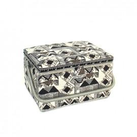 Boîte à couture Graphik taille L - noir