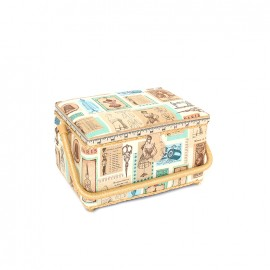 Sewing box Madame taille M - beige