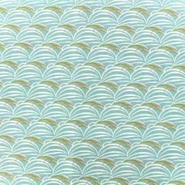 Tissu Oeko-Tex popeline Madame casse bonbon - Jap x 10cm