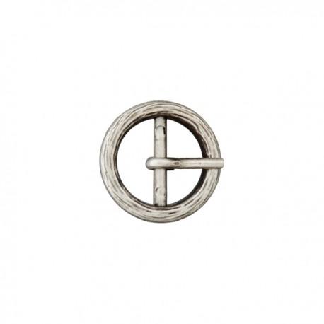 Boucle métal Anna - vieux métal