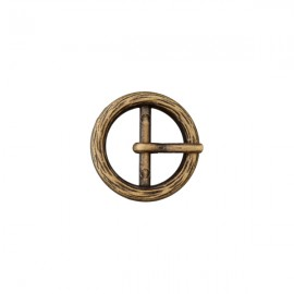 Anna metal buckle – bronze