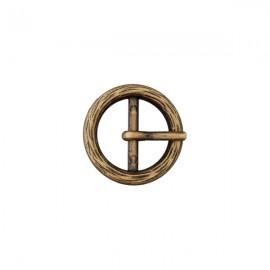 Boucle métal Anna - bronze