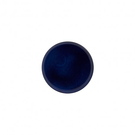 Ivory Polyester button - midnight blue