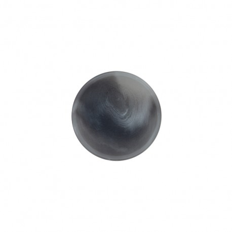 Ivory Polyester button - grey