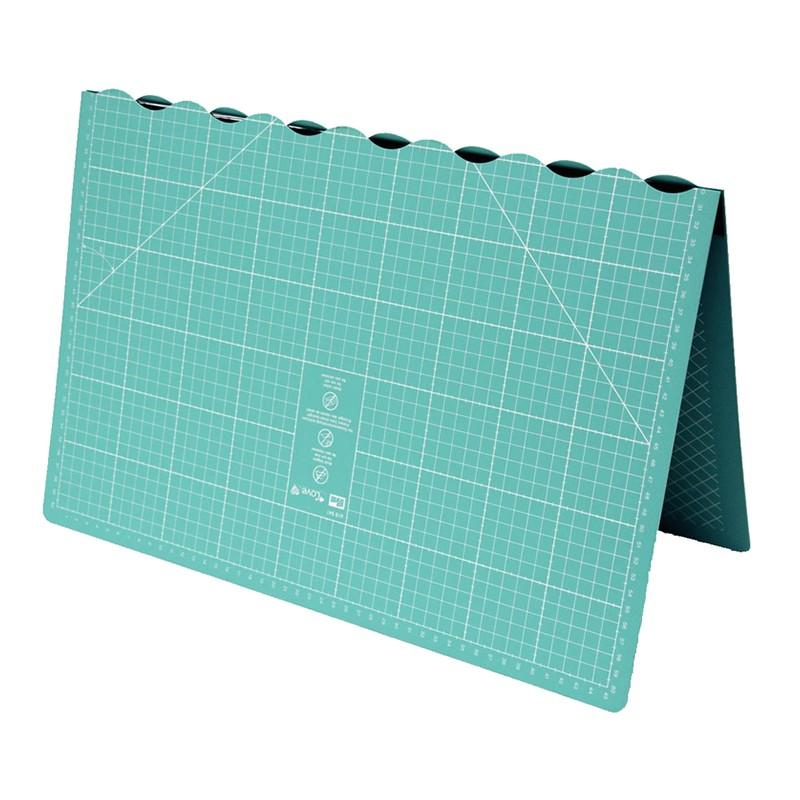 tapis de dcoupe pliable prym love 45 x 60cm vert deau - Tapis Vert D Eau