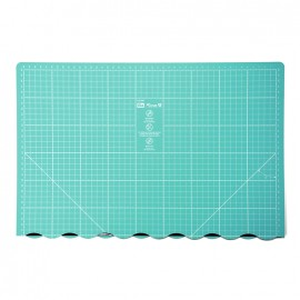 Love Prym foldable cutting mat 45 x 60cm - seagreen