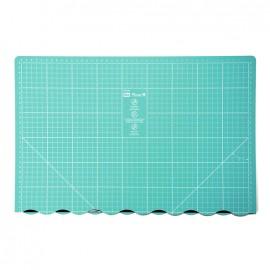Tapis de découpe pliable Prym Love 45 x 60cm - vert d'eau