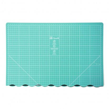 Love Prym foldable cutting mat 45 x 60cm - seagreen