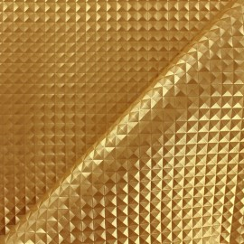Simili cuir Merlin - or x 10cm