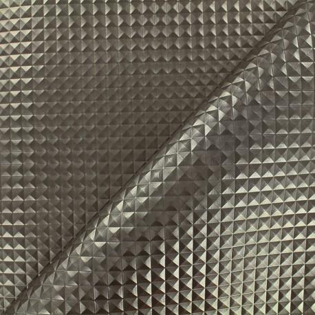 Imitation leather  Merlin - platine x 10cm