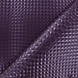 Simili cuir Merlin - violet x 10cm