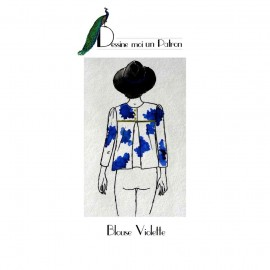 Sewing pattern Dessine moi un patron Blouse - Violette