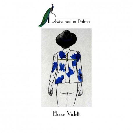 Sewing pattern Dessine moi un patron Blouse - Violette