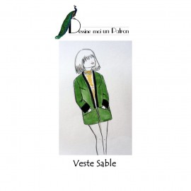 Sewing pattern Dessine moi un patron Jacket - Sable