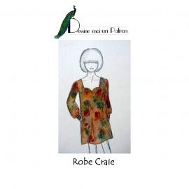 Sewing pattern Dessine moi un patron Dress - Craie