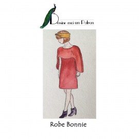 Sewing pattern Dessine moi un patron Dress - Bonnie