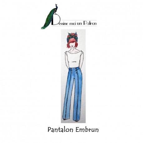 Patron Dessine moi un patron Pantalon - Embrun