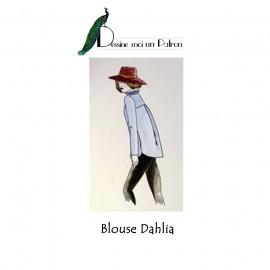 Patron Dessine moi un patron Blouse - Dahlia