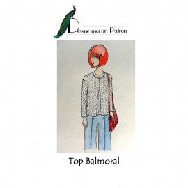 Sewing pattern Dessine moi un patron Top - Balmoral