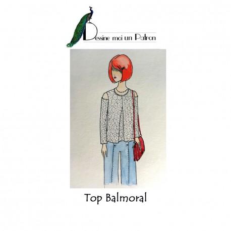 Sewing pattern Dessine moi un patron Top - Balmoral