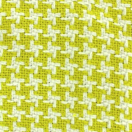 Woven jacquard fabric Pictave - lime x 10cm