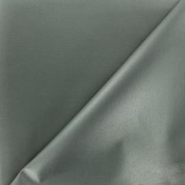 Tissu toile polyester souple imperméable - gris x 10cm