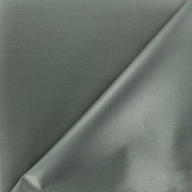 Waterproof supple polyester canvas fabric - grey x 10cm