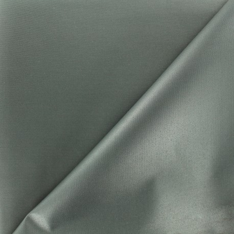 Waterproof supple polyester canvas fabric - grey x 10cm