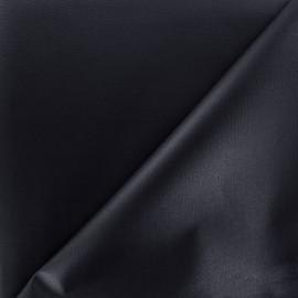 Tissu toile polyester souple imperméable - marine x 10cm