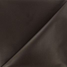 Waterproof supple polyester canvas fabric - brown x 10cm