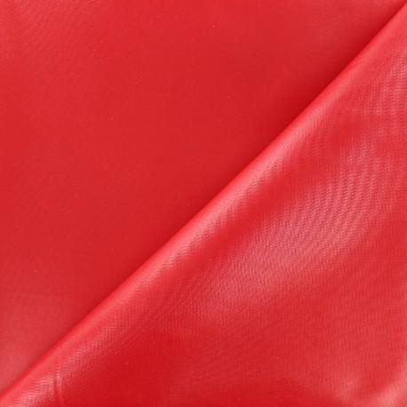 tissu toile polyester souple imperm able rouge x 10cm. Black Bedroom Furniture Sets. Home Design Ideas