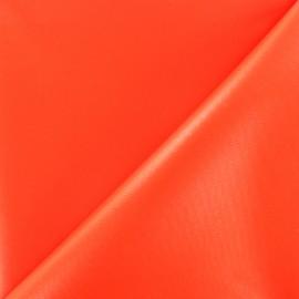 ♥ Coupon 20 cm X 150 cm ♥  supple polyester canvas fabric - neon orange