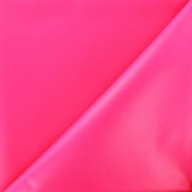 Tissu toile polyester souple imperméable - fuchsia fluo x 10cm