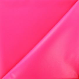 Waterproof supple polyester canvas fabric - neon fuchsia x 10cm