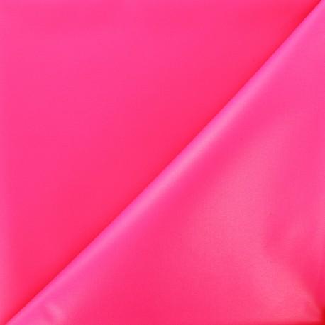 Waterproof supple polyester canvas fabric - neon fuchsia x 10cm