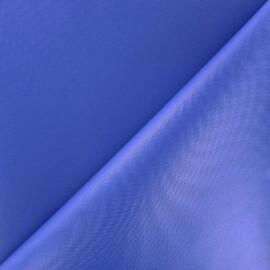Tissu toile polyester souple imperméable - bleu roy x 10cm