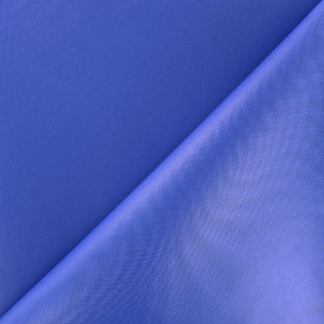 Waterproof supple polyester canvas fabric - royal blue x 10cm