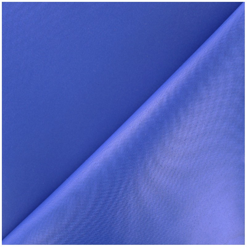 tissu toile polyester souple imperm able bleu roy x 10cm. Black Bedroom Furniture Sets. Home Design Ideas