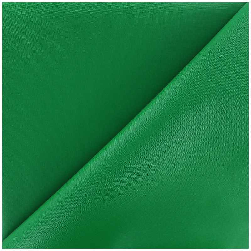 Waterproof Supple Polyester Canvas Fabric Green X 10cm