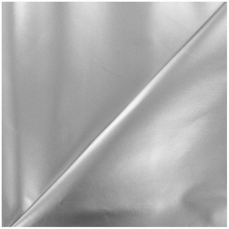 tissu toile polyester souple imperm able argent x 10cm ma petite mercerie. Black Bedroom Furniture Sets. Home Design Ideas