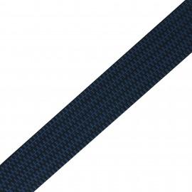 Mylène stripe - blue  x 1m