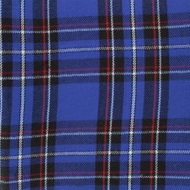 Tissu tartan écossais Andrews - navy x 10cm