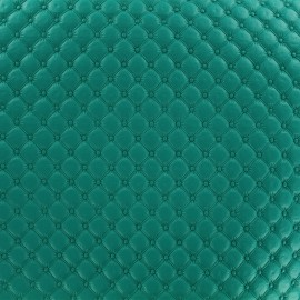 Imitation leather Jada - green blue x 10cm