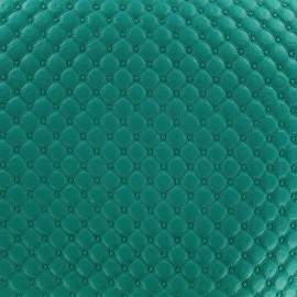 Simili cuir Jada - vert bleu x 10cm